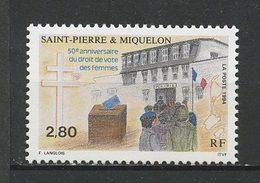 SPM MIQUELON 1994 N° 597 ** Neuf MNH Superbe C 1.65 € Droit De Vote Des Femmes Women - Neufs