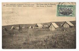 Rwanda Un Camp De La Force Publique Dans Le Ruanda CPA PK EP - Ruanda-Urundi