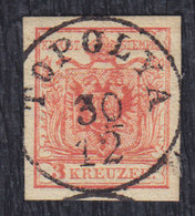 Austria-Hungary Serbia Topolya (Backa Topola) Postmark On Austro-Hungarian Stamp - Used Stamps