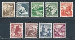 Deutsches Reich 675/83 ** Mi. 100,- - Germany