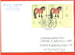 Germany 1997. FDC. The Envelope Passed The Mail. - Horses