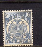 TRANSVAAL Zuidafrikaansche Republiek 1885 1893 COAT OF ARMS STEMMA ARMOIRIE PENNY 6p MNH - Sud Africa (...-1961)