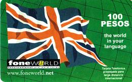 Carte Prepaid Mexico FoneWorld 100 Pesos - Mexico