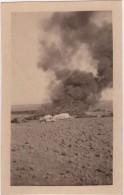 Photo Originale Guerre Du Levant Révolution Syrienne Attaque Messifré Cadavres En Train De Brûler - Oorlog, Militair
