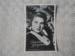 Fotoarchief Film En Toneel  Echte Foto  Real Photo  Ingrid Bergman  MGM - Artisti
