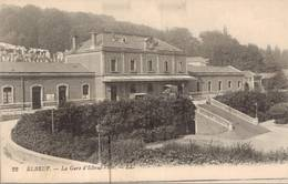 Cpa ELBEUF. La Gare D'Elbeuf- Ville. LL22 - Elbeuf
