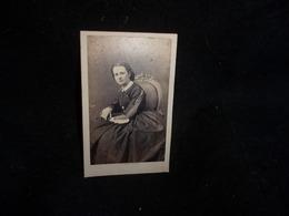Photo.Tirage Privé .Femme  (Mme Holstein ) Photographe Pesme ,Chaussée D ' Antin à Paris .Voir 2 Scans . - Photos