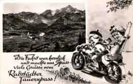 Radstädter Tauern - Hotel Tauernpasshöhe - Spruchkarte * 1954 - Obertauern