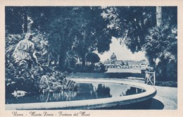 ROMA  MONTE FINCIO FONTANA DEL MOSE NON VIAGGIATA - Parks & Gardens