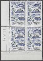 Saint Pierre Miquelon N°2193 Y.T. 11/12/81 Neuf ** Coin Daté - 1980-1989