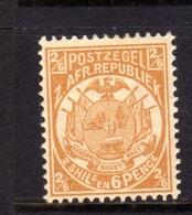 TRANSVAAL Zuidafrikaansche Republiek 1885 1893 COAT OF ARMS STEMMA ARMOIRIES SHILLING 2sh 6p 2/6 MNH - Sud Africa (...-1961)