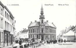 Lessines NA30: Grand'Place. Hôtel De Ville 1911 - Lessines