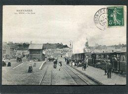 CPA - BINIC - La Gare, Animé - Train En Gare - Binic