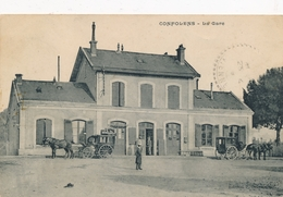 CPA - France - (16) Charente - Confolens - La Gare - Confolens