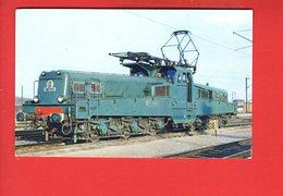 Chemin De Fer - Locomotive CC Type 14.100 (cliché Du Rail - Bernier) (état: Manque Au Dos) - Trains