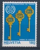 "HELVETIA - Dienstmarken: ""B.I.T.""  - Mi Nr 110 - MNH** - Service"