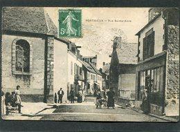 CPA - PORTRIEUX - Rue Sainte Anne, Animé - Saint-Quay-Portrieux