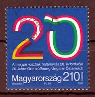 Hongarije Mi 5383 Grensovergang Hongarije,Oostenrijk 20 Jaar  Gestempeld Fine Used - Europese Gedachte