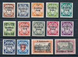 Deutsches Reich 716/29 ** Mi. 220,- - Germany