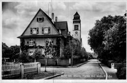 Cpa ALLEMAGNE Kehl Am Rhein, Partie Mit Kath, Kirche. - Kehl