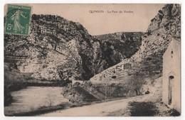 CPA 04 QUINSON Le Pont Du Verdon Pas Courante - Other Municipalities