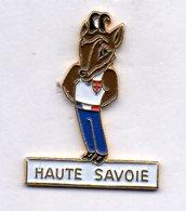 PIN'S JEUX OLYMPIQUES ALBERTVILLE 1992 MASCOTTE CHAMOIS (Refus CIO) HAUTE SAVOIE - Olympic Games