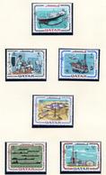 1969 - QATAR. -  Mi. Nr.  385/390 - LH - (CW4755.37) - Qatar