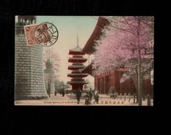 Cartolina Giappone Temple Kannon Of Asakusa, Tokyo - Tokyo