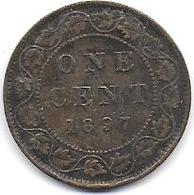 CANADA - One Cent  1897 - Canada