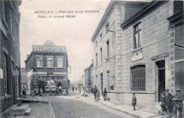 Belgique - Sambreville - Auvelais - Rue Des Deux Auvelais - Poste Et Grand Bazar - Sambreville