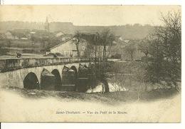 52 - SAINT THIEBAULT / VUE DU PONT DE LA MEUSE - Francia