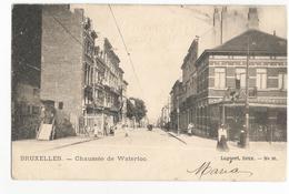 Saint-Gilles Hôtel De La Chasse Royale Café Chaussée De Waterloo Carte Postale Ancienne - St-Gilles - St-Gillis