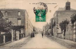 Cpa Legé - Rue Des Sables D' Olonne. - Legé