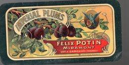 Miramont (47 Lot Et Garonne) Belle étiquette Chomolithographiée  IMPERIAL PLUMS (PPP19011) - Publicités