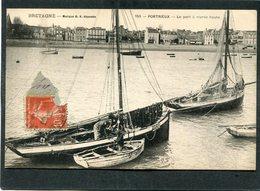 CPA - PORTRIEUX - Le Port à Marée Haute, Animé - Bateaux De Pêche - Saint-Quay-Portrieux