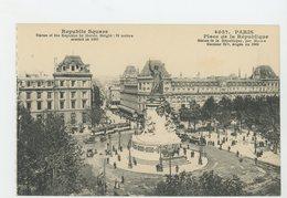 CPA - 75 - PARIS - PLACE DE LA RÉPUBLIQUE - - Arrondissement: 03