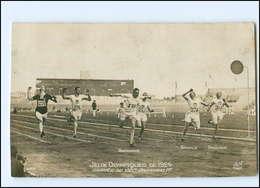 XX004907/ Oympiade 1924 Paris  Foto AK  100 Meter Lauf  - Olympische Spiele