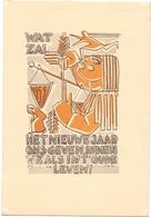 PK - Devotie Devotion - Wat Zal Het Nieuwe Jaar Ons Brengen - Illustr Patrick De Vijlder  - Inst. St Lucas Gent 1953 - Illustrateurs & Photographes