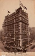 New York City - Hotel Knickerbocker - 42nd Street At Broadway - Written 1913 - Stamp Postmark - 2 Scans - New York City