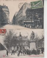 PARIS  -  LOT DE 15 CPA  - La Plupart Animées - Voir Scans  - - Cartes Postales