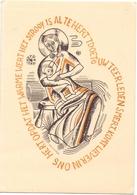 PK - Devotie Devotion - Madonna  - Illustr Patrick De Vijlder  - Inst. St Lucas Gent - Illustrateurs & Photographes