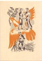 PK - Devotie Devotion - Vredesduif  - Illustr H. Pauwels  - Inst. St Lucas Gent - Illustrateurs & Photographes