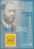 3036 Heinrich Hertz: Elektrische Kraft & Elektrische Strahlung - EB 7/2013 - [7] Repubblica Federale