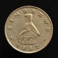 Zimbabwe 20 Cents. Km4. Africa Coin. EF. Random Ages. - Zimbabwe
