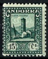Andorra Española Nº 32 En Nuevo - Spanisch Andorra