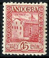 Andorra Española Nº 38 En Nuevo - Andorra Española