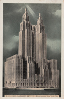 New York City - Hotel Waldorf-Astoria - Park Avenue - 49th Street To 50th Street - Written 1931 - Stamp - 2 Scans - New York City