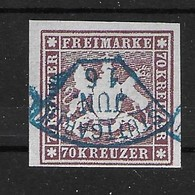 Württemberg Nr. 42  70 Kr.  Nachdruck Facsimile - Wurttemberg