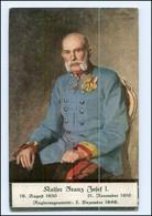 U3906/  Kaiser Franz Josef 1916  AK  - Königshäuser