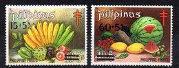 Serie  Nº 933/4  Filipinas - Frutas